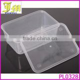 Disposable Plastic Food Storage Containers Saver Container with Lid for Kitchen Kids