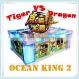 Killer Whale King IGS Ocean King 2 Tiger Vs Dragon Catch Fishing Gamble Slot Game Machine