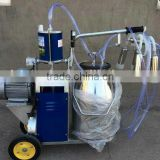 hot sale portable piston milking machine for cow,goat,sheep,Single barrel for cow milking machine
