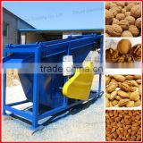 Almond husk and kernel separating machine/almond hazelnut shelling and separator machine/nut sheller and separator