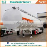 Factory direct oil tanker petrol oil tank semi trailer carbon steel aviation fuel trailer for sale