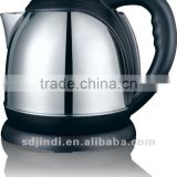 NEW HOT SALE hotel products STAINLESS STEEL ELECTRIC TEA KETTLE WITH TRAY FOR HOTEL LG-823D