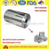Aluminum foil for household / food container Jumbo roll