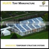 Attractive popular large clear top roof tent transparent wedding tent PVC marquee tent canvas party tent