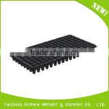 High quality deep black plastic rice seedling tray,Eco-Friendly Seeding Tray