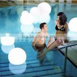 LED modern lighting plastic cube seating /waterproof magic ball wholesale china garden led ball light
