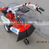 Walking type agricultural machinery pastoral management furrowing machine