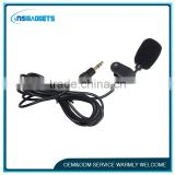 3.5mm plug professional lavalier microphone for recording and singing