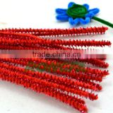 12'' christmas decoration tinsel craft chenille wire stem