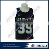 Full Sublimation Cheap Custom Reversible Lacrosse Jersey