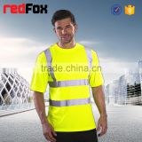 high visibility clothing safety sweatshirt short-sleeves safety vest warm for winter spring
