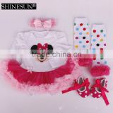 Christmas santa baby clothes girl Xmas baby clothing sets holiday newborn romper sets