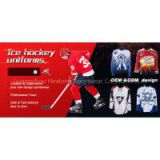 2015 cheap wholesale sublimation reversible hockey shirt,custom sublimated camo ice hockey jersey