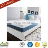 Gel memory foam dual layers foam mattress vacuum bed mattress vacuum bag for foam mattress