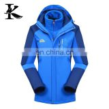 Highly Durable Blue Warm Winter Ski Jacket