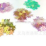 10mm Flat Star Shape Loose Sequins Multi Color Paillettes Sewing Wedding Craft Children DIY Accessories
