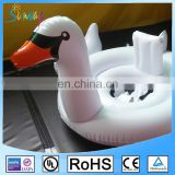 Water Sports Play PVC Inflatable Pink Flamingo White Swan Swimming Baby Seat Pool Float Ring
