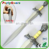 Latex PU Foam Rubber China Supplies Zulfiqar Masonic Antique Ceremonial Sword LARPGEARS Weapon for Cosplay