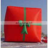 inflatable X-mas gift, inflatable gift box