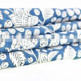Indian New Hand Block Cotton Fabric Crafting Dressmaking Sewing Fabric By Meter Cloth