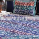 INDIAN Colorful circle printed Polar Fleece for Bed Sheet US/UK BASED