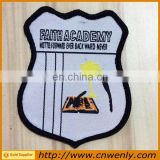 Personal custom school woven badges for clothing