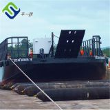 BV Certificated ship rubber launching airbag for boat lifting and floating