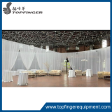 Pipe and drape dome canopy round wedding mandap for event