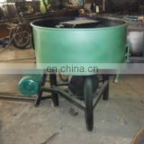 Double Roller Charcoal Concrete Mixer With Grinding Wheel