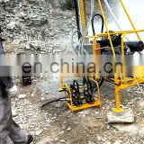 portable drilling rig/pneumatic rock drill