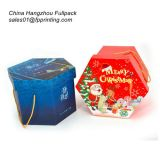 Customise Christmas Gift Packing Box Made of Paper