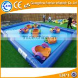 Customized inflatable adult / kids swimming pool inflatable pool toys for sale