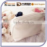 pure fashion personal leather cosmetic pouch bag