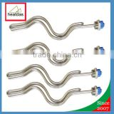 Stainless Steel 240V 5500W Ripple Screw In Electric Brewery Ultra Low Watt Density Element