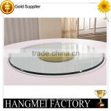 Round Tempered glass for lazy susan turntable                                                                         Quality Choice