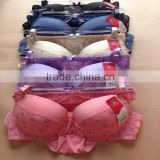 1.05USD High Quality Large Size Transparent Material Girls Sexy Fancy Bra Panty Set,5Colors/ 36-40 C Cup(kctz013)