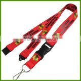 Custom screen printing exhibition LOGO Nylon lanyards work permit card lanyard mobile phone rope Lanyard