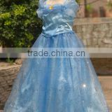 Newest Summer Cinderella Princess Kids Lace Blue Dress Childrens Clothing Cosplay Costume Girl Princess Fancy Dress