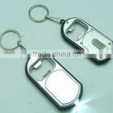 Pocket Key Chain Beer Bottle Opener LED Chain Keychain Torch High Power With portable tail Newest