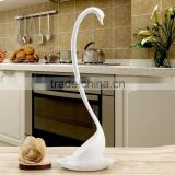 AN23 ANPHY LARGE SWAN LADLE Standing Spoon 1 pc price black white 2 colors in stock PP Material 28.5*8.2cm, Tray 10cm deep 1cm