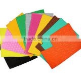 Hot Sale Assorted Colors Pattern Embossed EVA Foam Sponge Sheets Stickers for Office Stationery DIY handcrafts