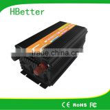 2000w digital display high efficiency modified power inverter dc ac inverter with charger