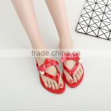 Design new flat sandals pictures of casual shoes flat slipper sandals any color possible