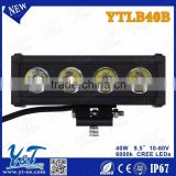 "2015 new product factory direct sell 9.5"" led light bar for off road 4x4,SUV,ATV,4WD,truck. CE, ROHS, IP67"