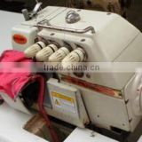 Large Stock Used Second Hand stitch tested good condition overlock sewing machine SIRUBA 747