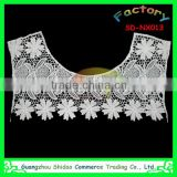 White milk silk high quality crochet embroidery neck lace decoration neck trim collar DIY necklace collar