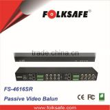 CCTV Camera Accessories Folksafe 16-channel passive video balun, FS-4616SR