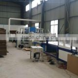 Fully automatic cardboard printing slotting die-cutting gluer linkage line/ carton machine