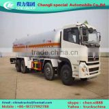 Customized hot sell dongfeng lpg gas cylinder trucks for sale 8x4 LPG truck with dispenser and pump