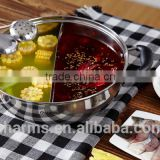 2015 Charms food warmer hot stainless steel pot& High Quality Charms buffet chafing dish& non-stick induction cookware cooker